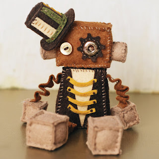 Robot Plush Doll
