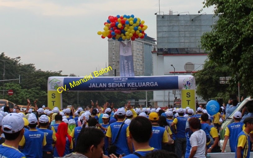 BALON GAPURA BANK BTN