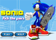 Sonic Pick the Pairs