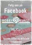 Følg HOBBYKUNST Megastore på FACEBOOK