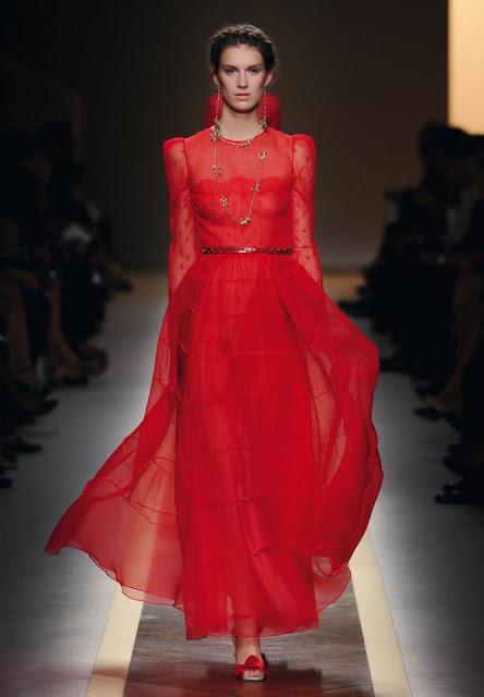 Валентино красное платье 156