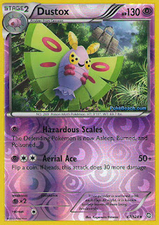 Dustox Dragons Exalted Pokemon Card