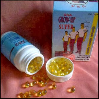 GROW - UP USA CAPSUL | OBAT PENINGGI BADAN HERBAL