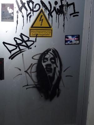 Streetart, Stencil, München