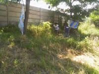 Jornada de limpieza en el barrio Cabeza por La Cámpora Ensenada