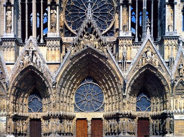 Architecture gothique les cath drales histoire de l 39 art - Une cathedrale gothique ...