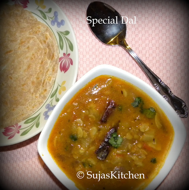 Dal with vegetables