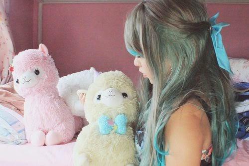 Romantic Gradient Blue Wig: Lolita Wig AN
