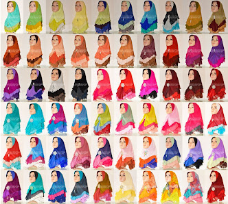 Tudung Chiffon 3 Layer Batch 14