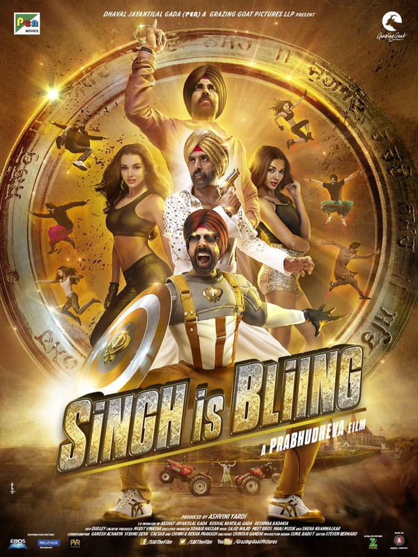 full cast and crew of bollywood movie Singh Is Bling! wiki, story, poster, trailer ft Akshay Kumar, Amy Jackson, Lara Dutta, kay Kay Menon