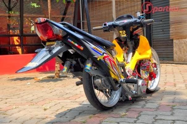Foto Modifikasi Honda Kharisma Terbaru