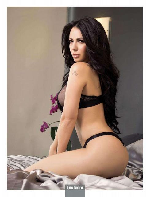 Jimena Sánchez en la portada de la Revista H Para Hombres México ...