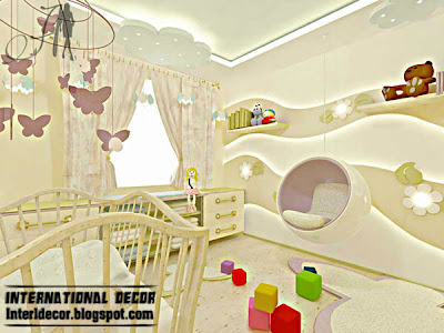 Best creative kids room ceilings design ideas, cool false ceiling and pop wall