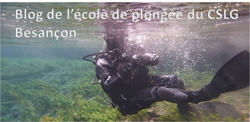 Club plongée Besançon - CSLG FC section plongée