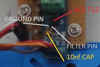 acs 712 current sensor filter capacitor