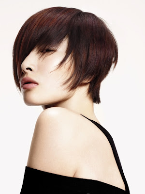 Short Bob Hair Style Trends for Fall- by Aveda<