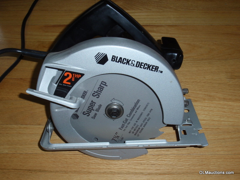 black and decker circular saw manual