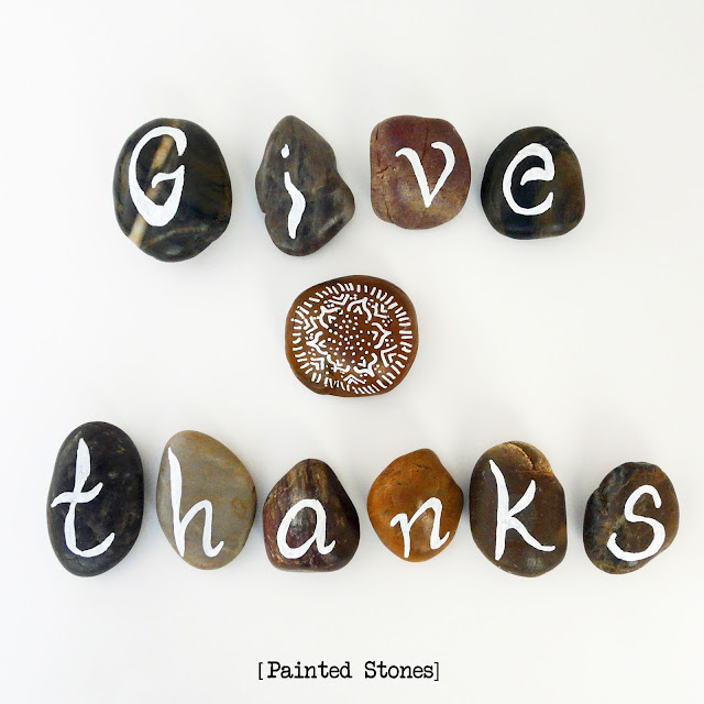 thanksgiving stones