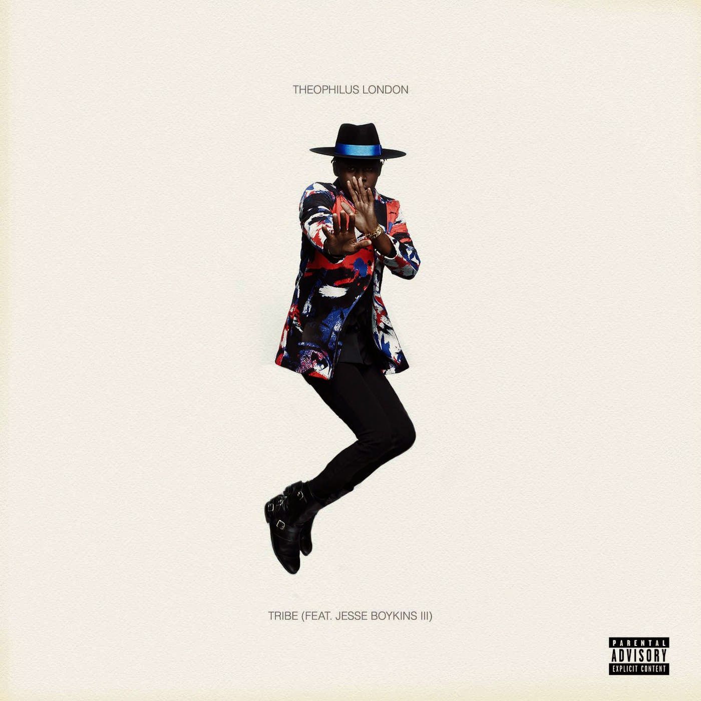 Theophilus London - Tribe (feat. Jesse Boykins III) - Single Cover
