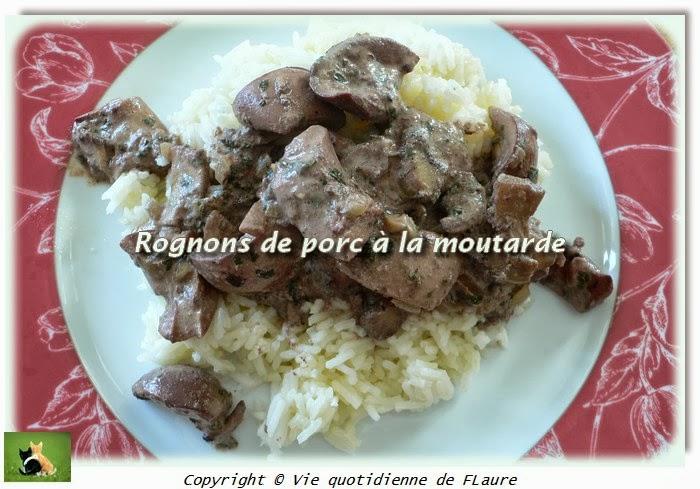 Rognons de porc la moutarde blogs de cuisine - Cuisiner rognons de porc ...
