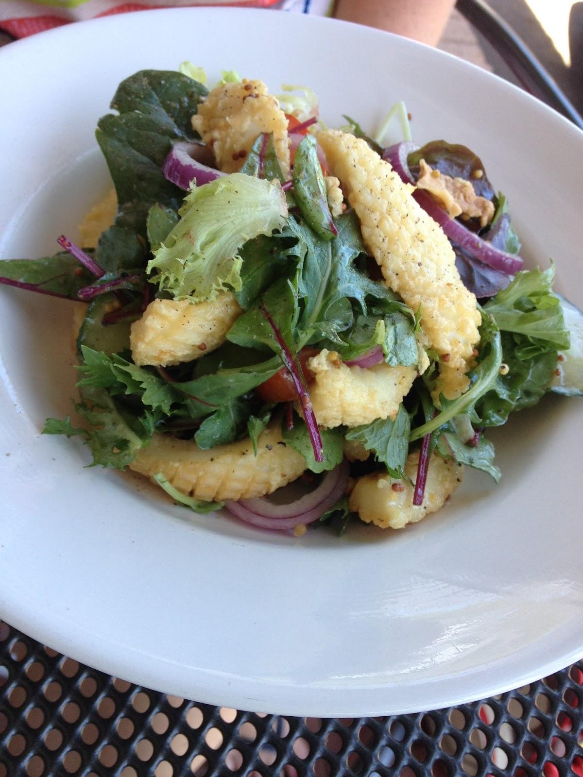 Eire, Cafe, Adelaide, Lemon pepper calamari, Clapham