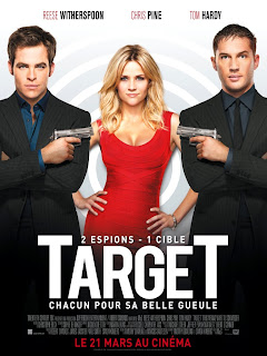 Reese Witherspoon, Target, Bronson, This Means War, Charlie's Angels, McG, Chris Pine, Tom Hardy, poster, french poster, affiche, teaser, Target