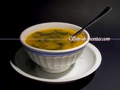 Sopa de talo de couve