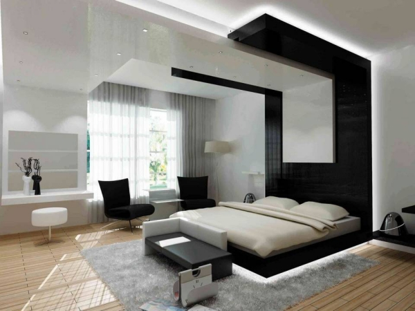 Modern Bedroom Design Ideas 600 x 450