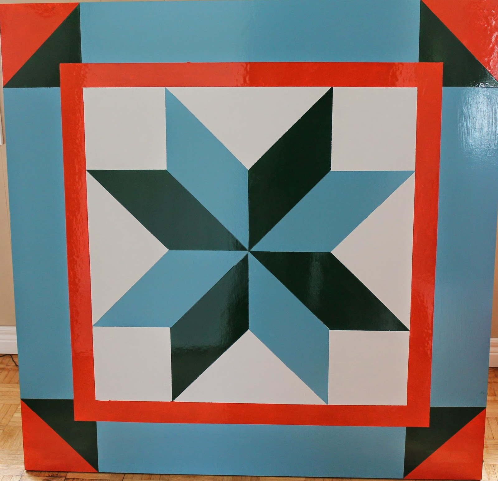 Quilt Block Patterns In Public Domain : Township of Assiginack: Creating a Barn Quilt