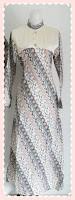 model+baju+gamis+batik+(4) Contoh Model Baju Gamis Modern Terbaru 2014 Baru