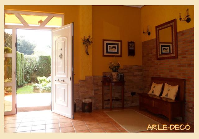 Muestranos tu recibidor show us your hall decoracion for Decoracion hall