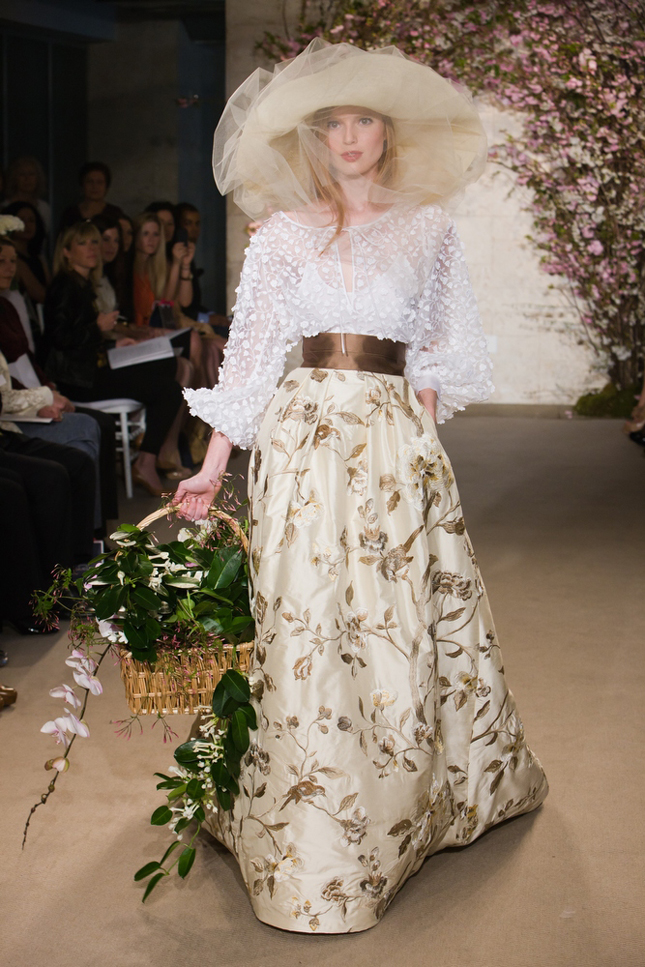 nature inspired wedding dresses belle the magazine ForNature Themed Wedding Dress