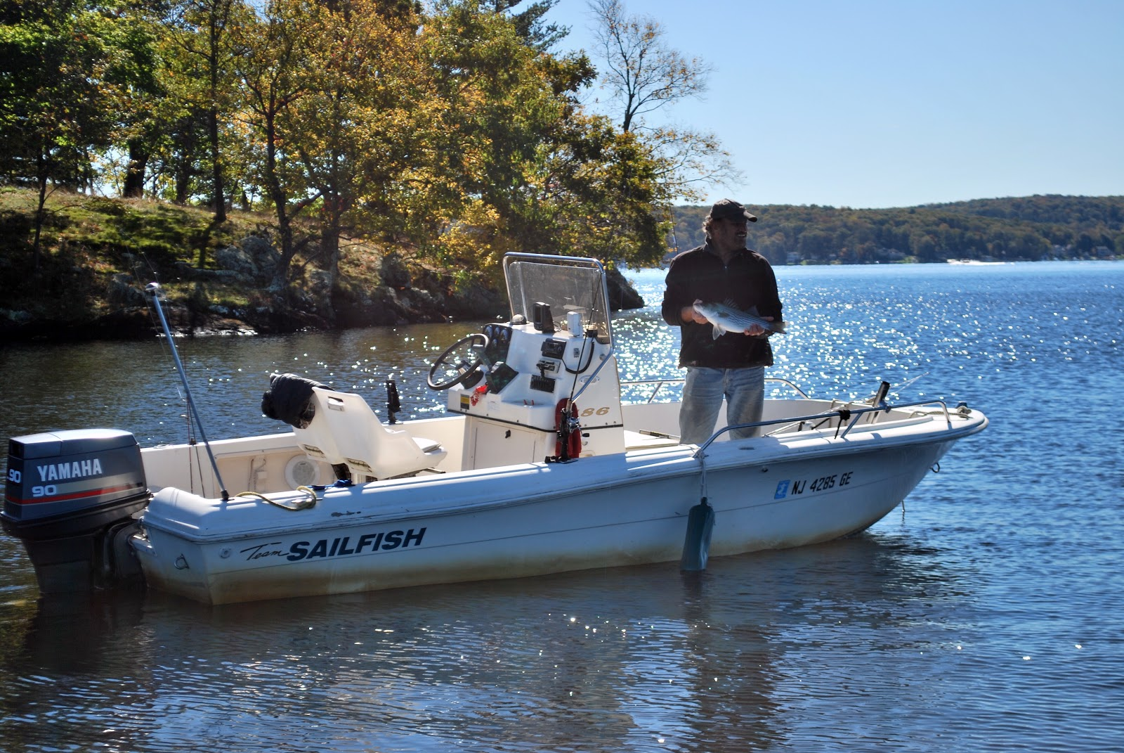 Litton 39 s fishing lines lake hopatcong hybrid stripers and for Lake hopatcong fishing