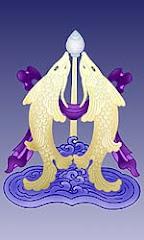 Peixinhos auspiciosos, simbolo de prosperidade