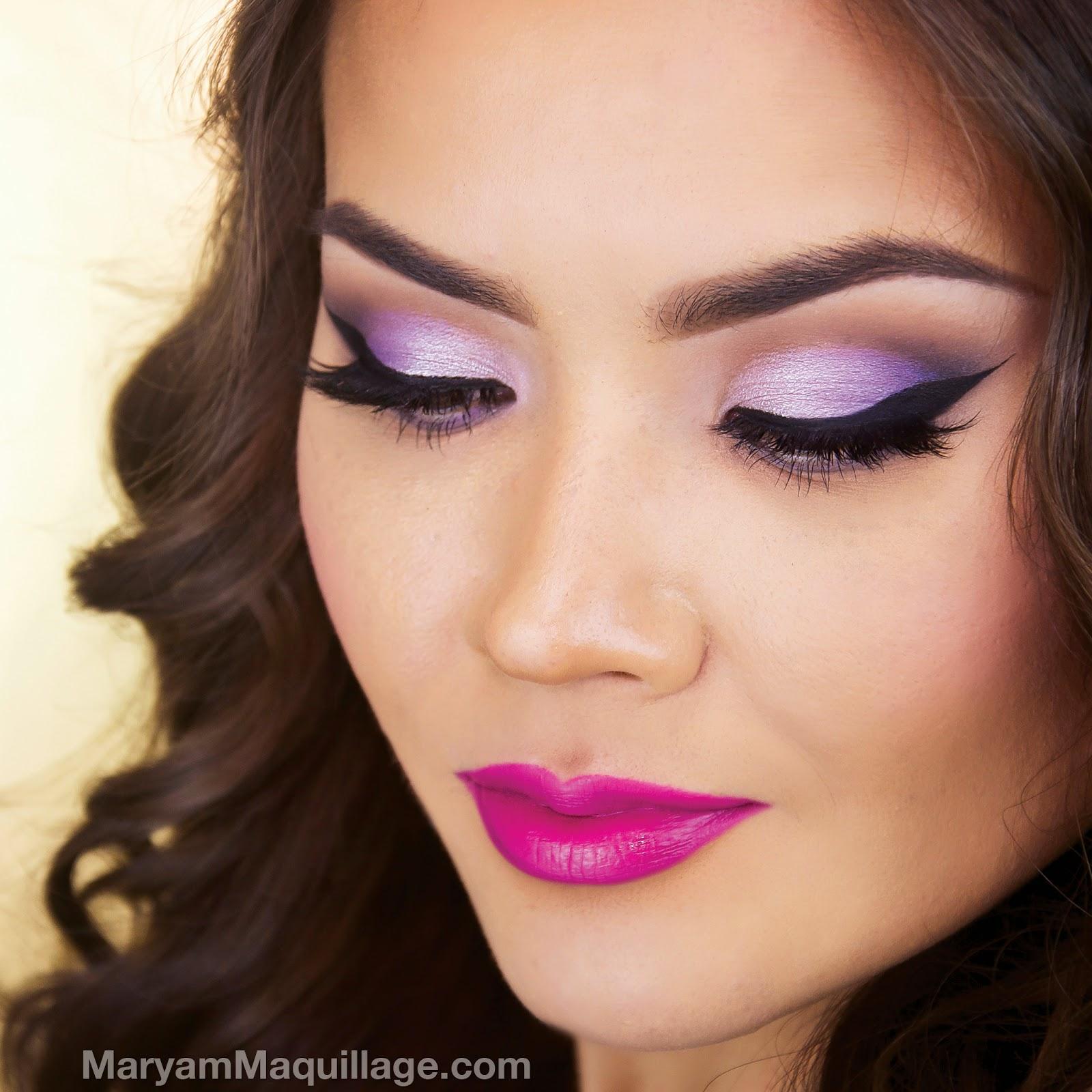 What Makeup With A Purple Dress - Mugeek Vidalondon