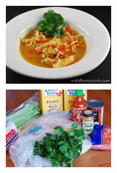 Slow Cooker Thai Chicken Curry Soup from Eat at Home | Slow Cooker ...