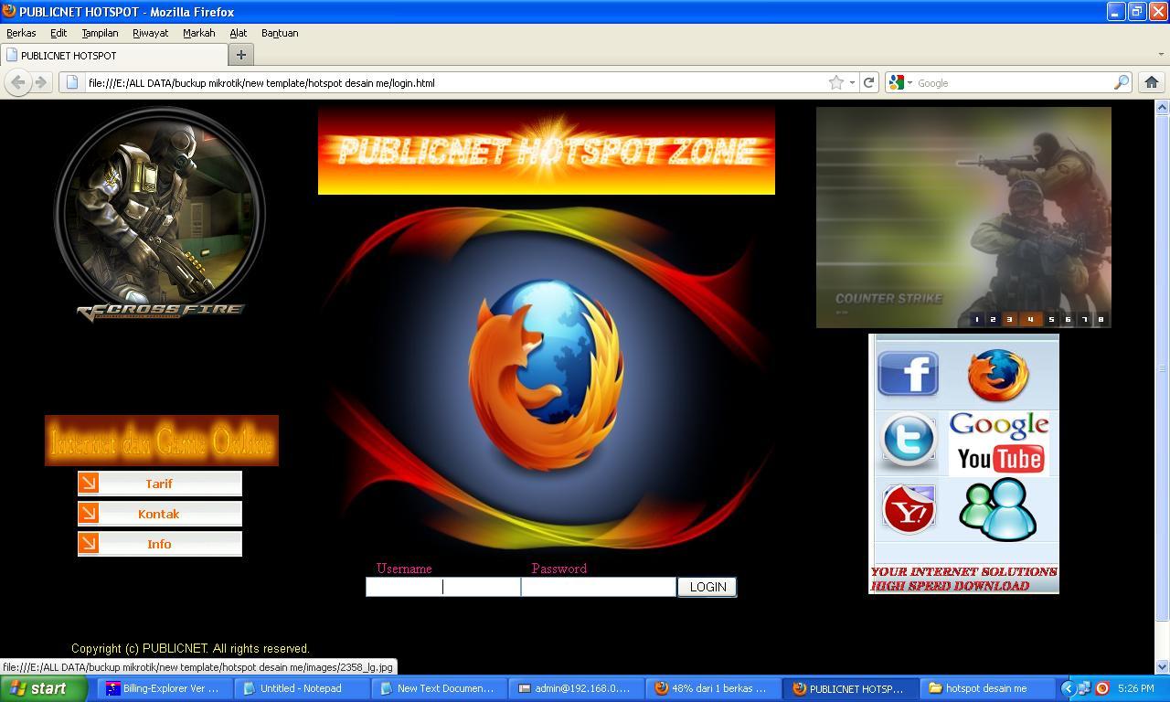 Hack Page Login Hotspot