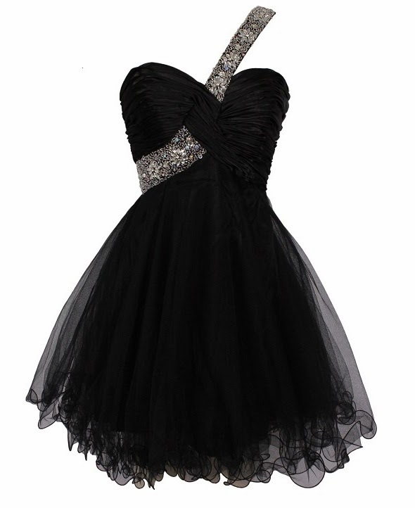 Download this Prom Dress Black Short... picture