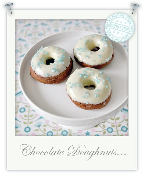 Mini Gluten free baked chocolate doughnuts