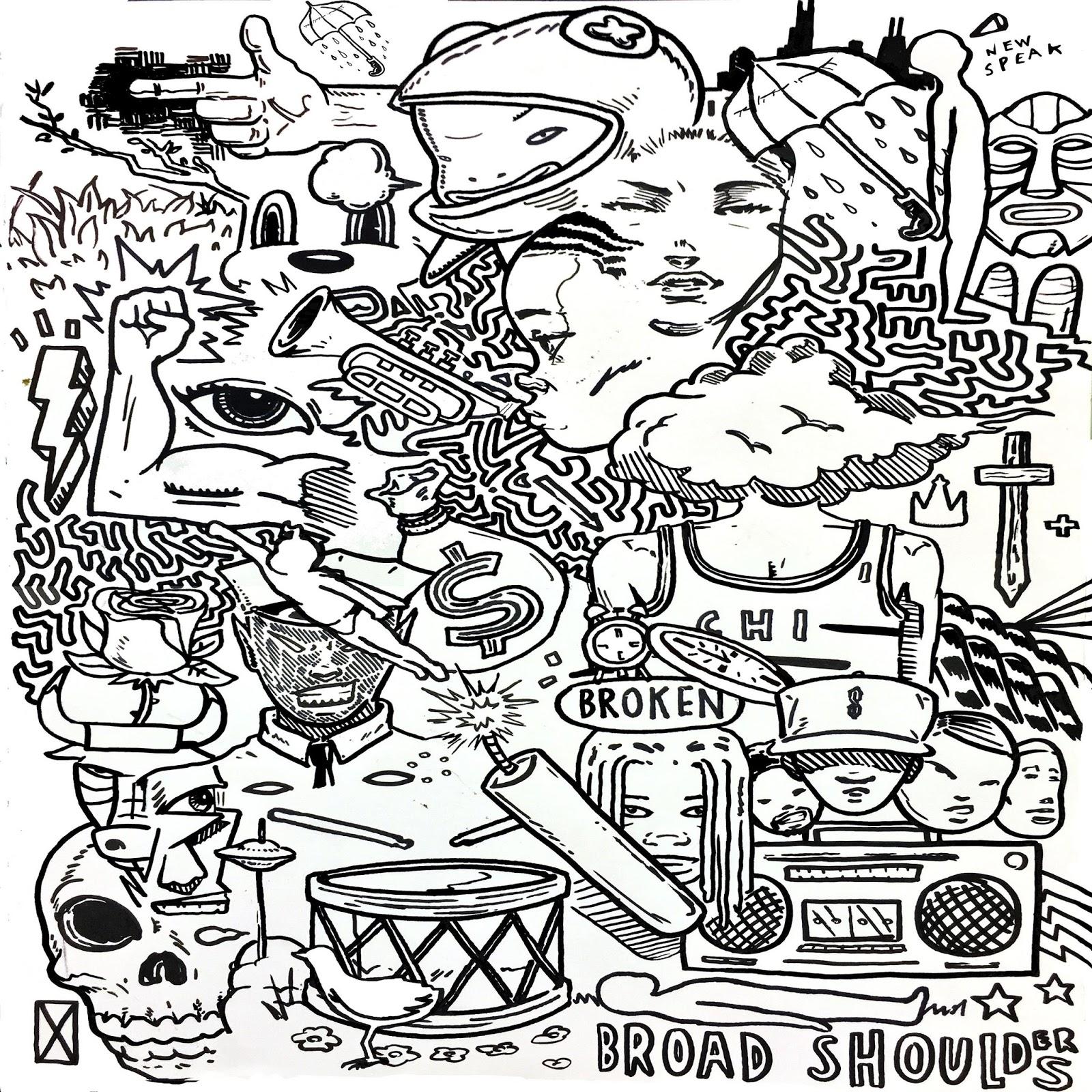 Taylor Bennett - Broad Shoulders Cover