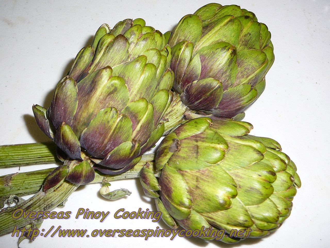 Cooking blogger posts: Guinataang Baboy with Artichoke, Pork with
