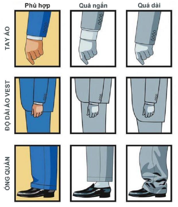 Cách mặc comple - veston 4