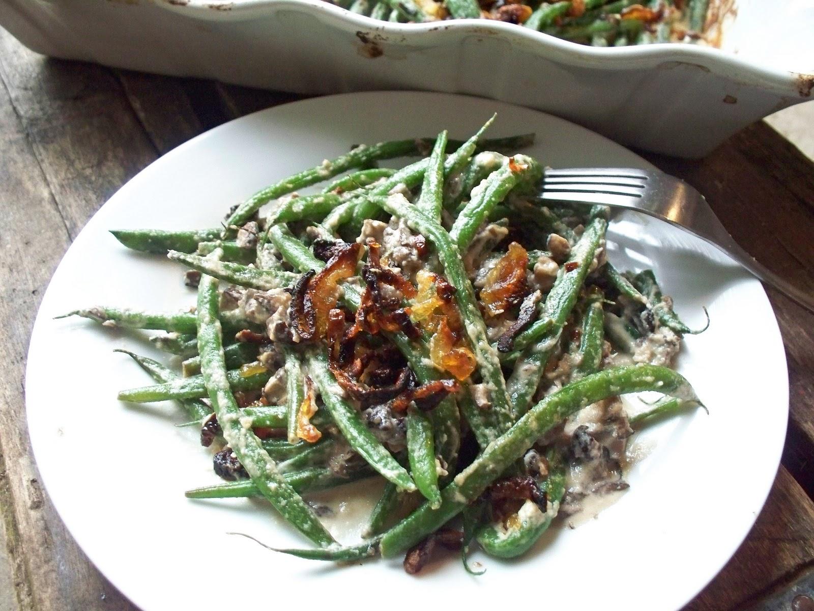 The Urban Poser:: French Green Bean Casserole W/Crispy Shallots (Gaps ...