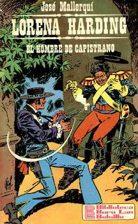 Lorena Harding - El Hombre de Capistrano - Jose Mallorqui