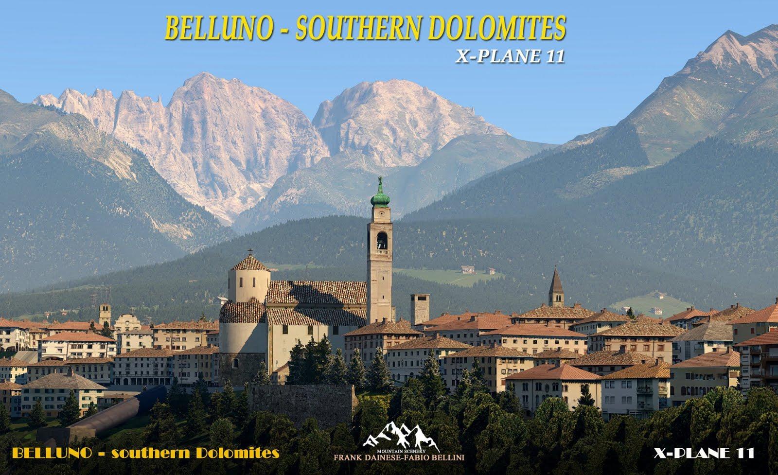 BELLUNO - SOUTHERN DOLOMITES