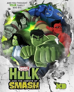 Hulk e Os Agentes de S.M.A.S.H. Desenhos Torrent Download completo