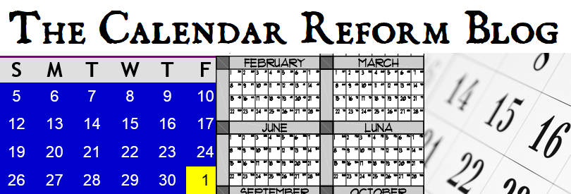 Calendar Reform Blog