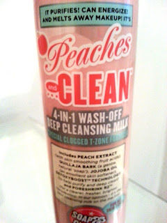 Soap & Glory's Peaches and Clean 4-in-1 Deep Cleansing Milk