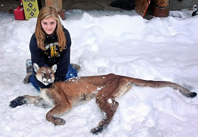 girl shoots cougar made queen of the children of the corn