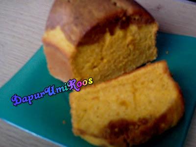 Jurnal cake labu kuning